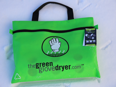 Green Glove Dryer in package