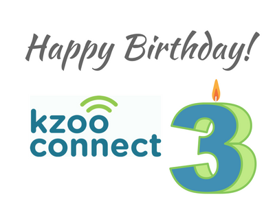KzooConnect turns 3!